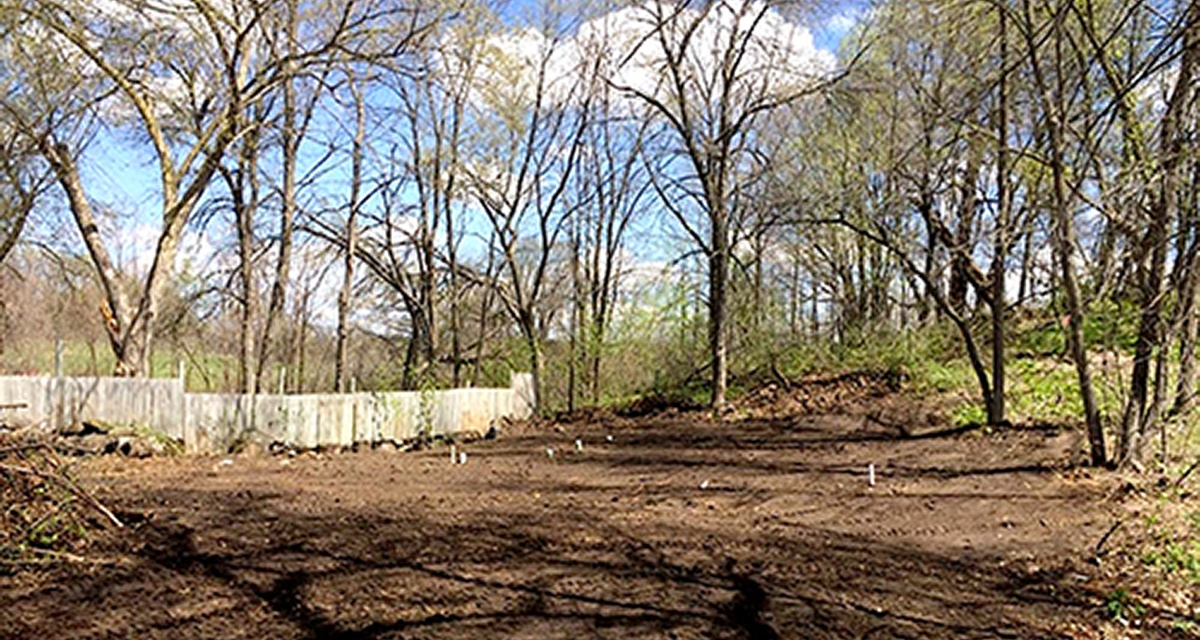 Barry Excavating yard work