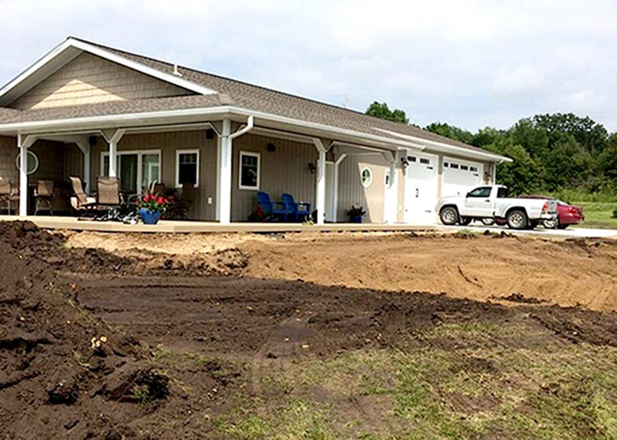Barry Excavating yard