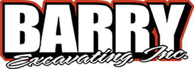 Barry Excavating logo